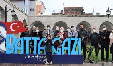 Öğretmenler Medeniyetin Kalbi Battalgazi'yi Fotoğrafladı
