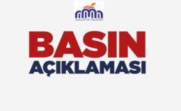 Malatya Valiliği Basın Açıklaması (Siyasi Parti İl Binasına Saldırı Hakkında)