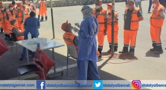 Battalgazi Belediyesi'nden 20 Birim Müdürlüğüne Covid-19 Testi