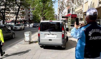 Büyükşehir Belediyesi Zabıta Ekiplerinden Trafik Denetimi