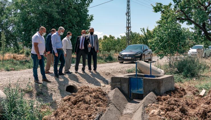 Maski, Şahnahan Ve Suluköy Mahallesi'ne Açık Sistem Sulama Kanalı İnşa Ediyor