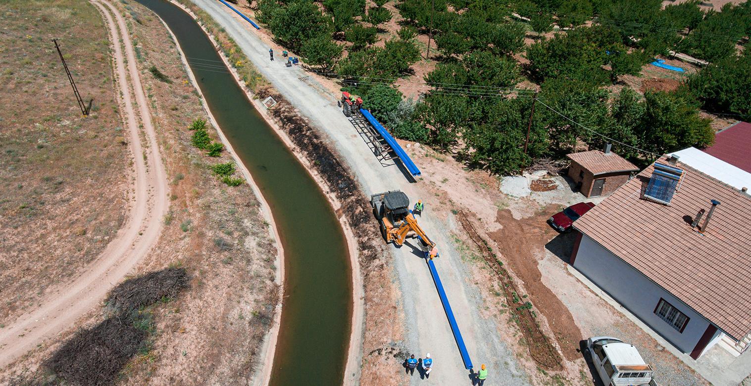 Çapo Grubu Çalışmasıyla 30 Merkezin Su İhtiyacı Karşılanacak