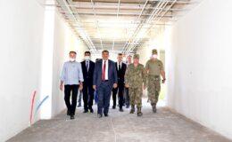 Malatya Büyükşehir Belediyesi Altay Kışlası'nda Çalışmalarına Devam Ediyor